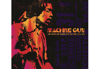 Jimi Hendrix - Machine Gun Jimi Hendrix The Fillmore East 12/31/1 - (CD)