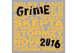 VARIOUS - Grime 2016 (2CD+MP3) - (CD + Download)