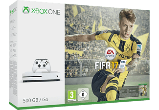 MICROSOFT Xbox One S 500 GB Konsol + Fifa 17 Outlet