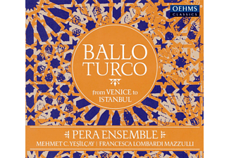 Pera Ensemble, Francesca Mazzulli, Mehmet C. Yesilcay, Various - Ballo Turco: From Venice to Istanbul - (CD)