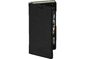 HAMA Slim Bookcover$, Wiko, U Feel, High-Tech-PU, Schwarz