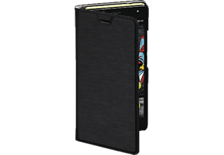 HAMA Slim Bookcover, Wiko, U Feel, High-Tech-PU, Schwarz