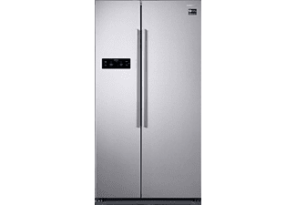 SAMSUNG RS5GK4005SA/EG, Side-by-Side, A++, 365 kWh/Jahr, 1789 mm hoch, Edelstahl