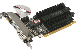 ZOTAC GeForce GT 710 ZONE Edition 1GB DDR3 (ZT-71301-20L) (NVIDIA, Grafikkarte)