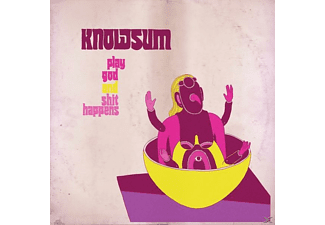 Knowsum - Play God & Shit Happens - (Vinyl)