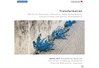sonic.art Saxophone Quartet - Transformation - (CD)