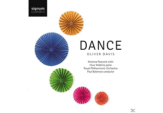 Kerenza Peacock, Huw Watkins, Royal Philharmonic Orchestra - Dance - (CD)