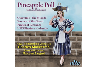 Malcolm Sargent, Pro Arte Orchestra - Pineapple Poll/Ouvertüren (arr.Charles Mackerras - (CD)