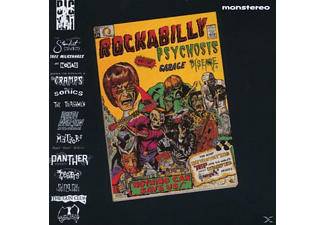 VARIOUS - Rockabilly Psychosis & Garage Disease - (CD)