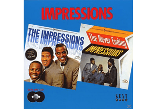 The Impressions - Impressions/The Never Ending - (CD)