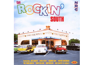 VARIOUS - THE ROCKIN  SOUTH - (CD)