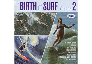 VARIOUS - Birth Of Surf Vol.2 [CD]