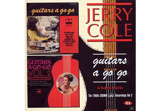 Jerry Cole - Guitars A Go - Go: The 1960s Crown Recordings Vol. 2 - (CD)