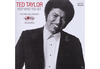 Ted Taylor - Keep What You Get-Rare And Unissued Ronn Recording - (CD)