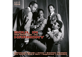 VARIOUS - Soul In Harmony-Vocal Groups 1967-1977 - (CD)