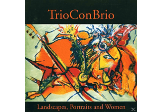 Trio Con Brio - Landscapes,Portraits And Women - (CD)