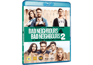 Bad Neighbours 1 & 2 Komedi Blu-ray