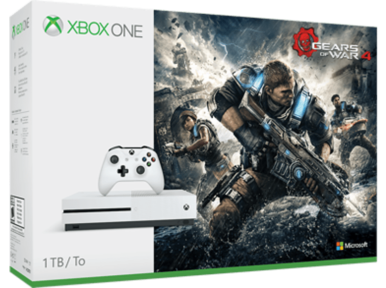 MICROSOFT Xbox One S Gears of War 4 Bundle 1TB gaming   offline microsoft xbox one κονσόλες xbox one gaming κονσόλες κονσόλες x