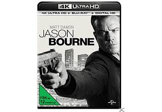 Jason Bourne [4K Ultra HD Blu-ray + Blu-ray]