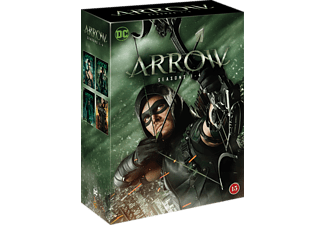 Arrow Säsong 1-4 Action DVD