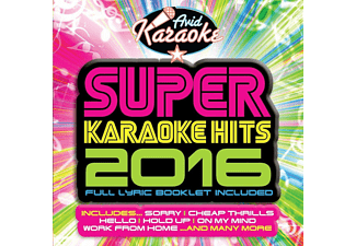 VARIOUS - Super Karaoke Hits 2016 - (CD)
