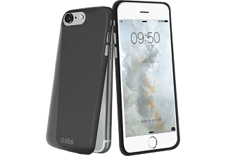 SBS MOBILE Extra Slim Cover iPhone 7 - Svart