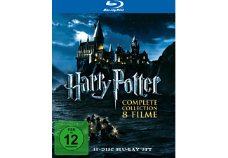 Harry Potter - The Complete Collection (Box Set) Abenteuer Blu-ray