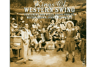 VARIOUS - KINGS OF WESTERN SWING - (CD)