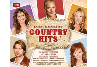 VARIOUS - Country Hits-Latest & Greatest - (CD)
