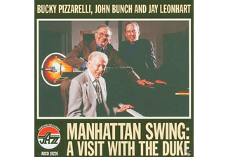 Pizzarelli, Bucky / Bunch, John / Leonhart, Jay - Manhattan Swing: A Visit With The Duke - (CD)