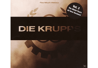 Die Krupps - Too Much History-Vol.2 The Metal Years [CD]