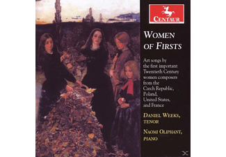 Oliphant Weeks - Women of Firsts - (CD)
