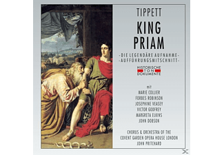 Chorus & Orchestra Of The Covent Garden Opera Hous, VARIOUS - King Priam - (CD)