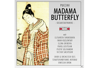 Chor & Orch.Des Staatsrundfunks Moskau - Madama Butterfly (Ga) - (CD)