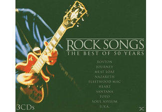 VARIOUS - Rock Songs-The Best Of 50 Years - (CD)