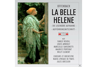 Choeurs Et Orch.Radio Lyrique De Paris - La Belle Helene (Qs) - (CD)
