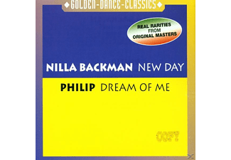 Philip, Nilla/philip Backman - New Day-Dream Of Me - (Maxi Single CD)