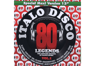 VARIOUS - i love italo disco legends vol.1 - (CD)