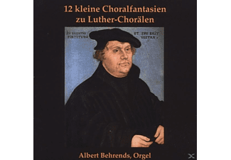 Peter Golon - 12 kleine Choralfantasien zu Luther-Chorälen - (CD)