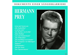Hermann Prey - Dokumente Einer Sängerkarriere-Hermann Prey - (CD)