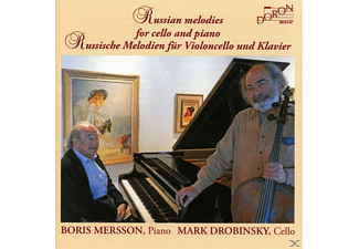 Drobinsky - Mersson - Russian melodies for cello and piano - (CD)