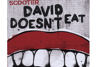 Scooter - David Doesn't Eat - (5 Zoll Single CD (2-Track))