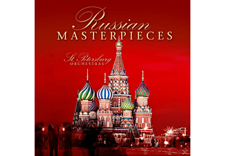 ST.PETERSBURG ORCHESTRAS - Russian Masterpieces - (CD)
