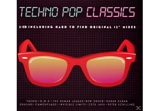 VARIOUS - Techno Pop Classics - (CD)