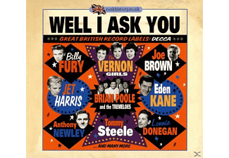 VARIOUS - Well I Ask You-Great British Record Labels: Decca - (CD)