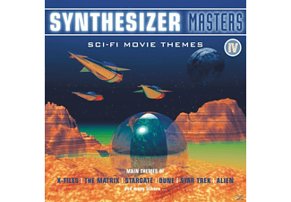 VARIOUS - Synthesizer Masters Vol.4 - (CD)