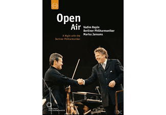 Repin/BP/Jansons - Open Air-A Night With The Bpo - (DVD)