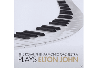 The Royal Phiharmonic Orchestra, Royal Philharmonic Orchestra - Rpo Plays Elton John - (CD)