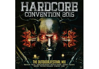 VARIOUS - Hardstyle Convention 2015 / The Outdoor Festival Mix - (CD)