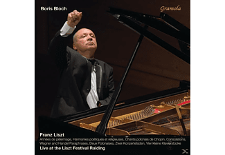 Boris Bloch - Annees De Pelerinage/Paraphrasen/Konzertetüden/+ [CD]